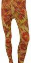 Floral Mid Waist Ladies Printed Legging, Casual Wear, Slim Fit