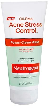 Neutrogena Acne Stress Control Power Cream Face Wash