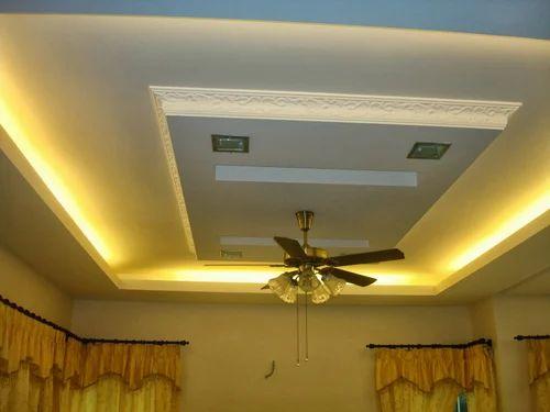 Yellow Gypsum Board ~ Gyproc false ceiling cost energywarden