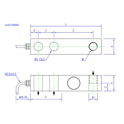 Load Cell Single Shear Beam