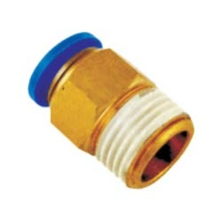 Push Male Connector