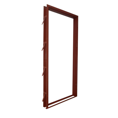 Metal Entry Doors And Frames : Pressed steel door frame sheet metal