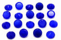 Blue Chalcedony Round Faceted Loose Gemstone