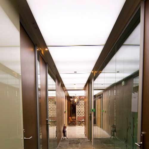 Corridor Design Ceiling: Corridor Backlit Ceiling Manufacturer