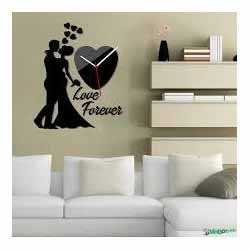 Acrylic Designer Wall Clock View Specifications Details of