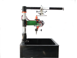 Mild Steel Profile Gas Cutting Machine, Automation Grade: Semi Automatic