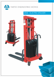 Electric Stacker Suppliers Manufacturers Amp Traders In India
