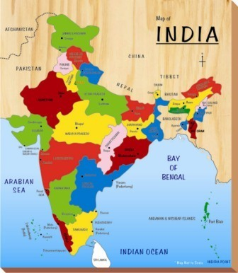 India Map Kinder Creative Toys Private Limited Manufacturer In - Ghaziabad map