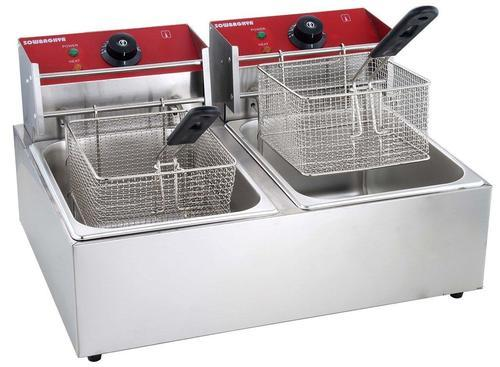 Double Deep Fryer at Rs 11200 /piece | Commercial Induction Stove ...
