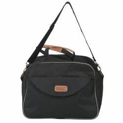 Nylon Black Travel Bag, Size/Dimension: 13.5