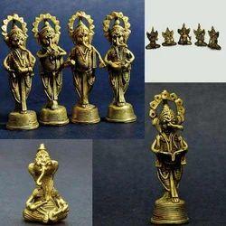 Dhokra Ganesha - Bell Metal Musical Ganesha Set