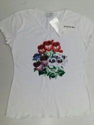 Ladies short sleeve T shirt