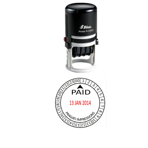 Shiny R 542d Dater Stamp