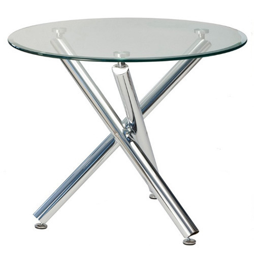 Round Gl Dining Table