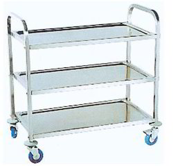Rubber Bussing Cart Trolley, For Carry Material