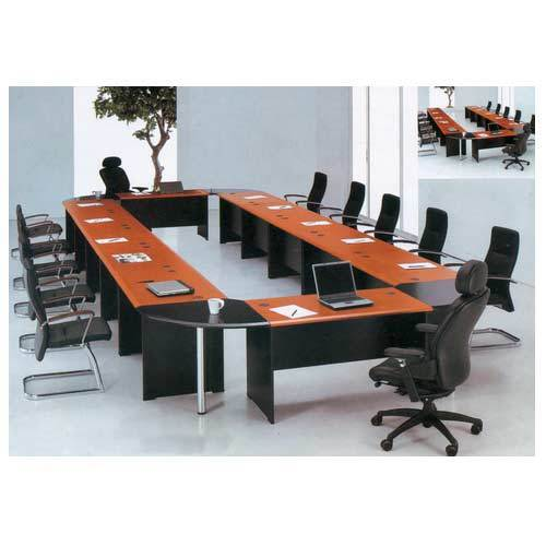 square grey modular conference table rs 30000 piece fine grace rh indiamart com modular conference table system modular conference table system