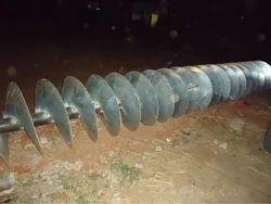 Horizontal Stainless Steel Screw Conveyor System