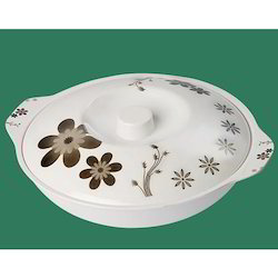 Melamine Serving Bowl with Lid