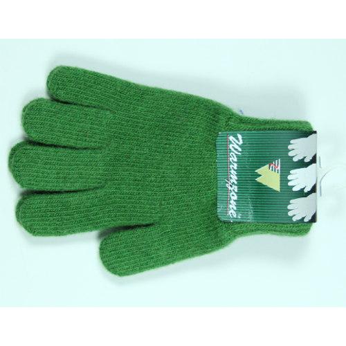 Soft Green Woolen Gloves