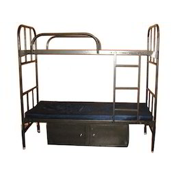 Bunker Cots With Storage Locker, Size: 72