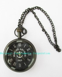 Black Antique Clock