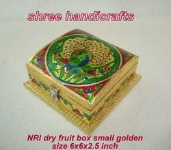 Dry Fruit Box NRI Small Golden