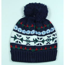 Printed Kids Winter Cap
