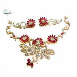 Diamond Necklace Sets