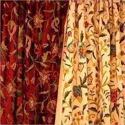 Embroidered Curtains Embroidered Curtains Manufacturer