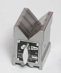 Crystal Carbide Magnetic V Block