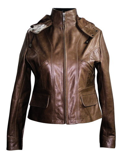 Ladies Lather Jacket