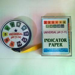 Universal Indicator Papers PH 1-11