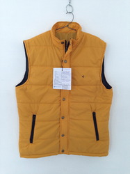Men's Sleeveless Polyfill Jackets