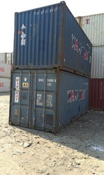 Galvanized Steel Dry Container Cargo Container, Capacity: 10-20 ton, for Storage