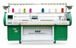 Knitting Machines - Three System With Take Down Comb