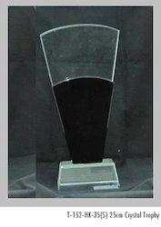 25 cm Crystal Trophies