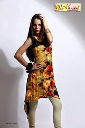 Digital Printed Western Tunic Kurti