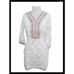 Block Printed Ladies Western Wear