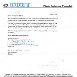 Kuhu Industries Pvt. Ltd.