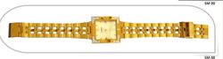 Designer Gold Plated Watch