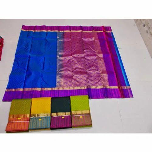 0b157da679 Light Weight Kanchipuram Soft Silks Saree, Kanjivaram Saree - Sri ...