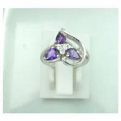 Iolite Silver Rings