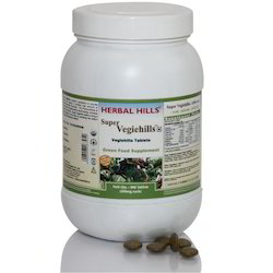 Vegetable Supplement - Supervegiehills 900 Tablets