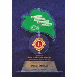 Acrylic Academic Trophy