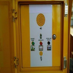 Yellow Emergency Calling System SOS