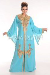Designer Hand Made Embroidered Dubai Kaftan