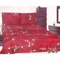 Maroon Printed Quilt