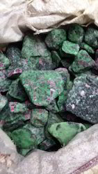 Ruby Zoisite Rough Stone
