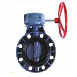 Wafer Type Butterfly Valve Gear Operated