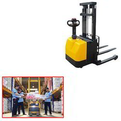 Electric Stacker For Material Handling